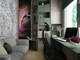 FAMILY IS ALL Рабочий кабинет в эклектичном стиле от Дизайнер интерьера Аня Сушко Эклектичный