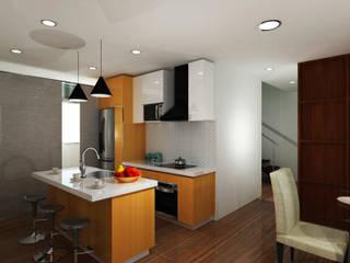 Diseño de Apartamento de G&T Arquitectos sas Moderno