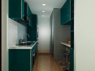 Remodelación cocina de G&T Arquitectos sas Moderno