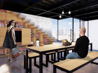 Terraza Serrano Balcones y terrazas modernos de Arquitectos M253 Moderno
