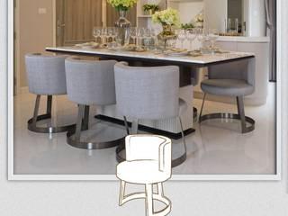 Luxury Modern & Classic Revival เฟอร์นิเจอร์ที่ผสานความคลาสิคที่ร่วมสมัยให้แก่บ้านในโครงการ: คลาสสิก  โดย บริษัท โกลบอล สปริง จำกัด, คลาสสิค