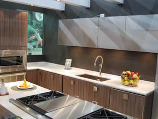 Cocina Lomas de Chapultepec Cocinas Ferreti, Modulform Cocinas equipadas Compuestos de madera y plástico Acabado en madera