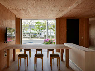 ARTBOX建築工房一級建築士事務所 Eclectic style dining room