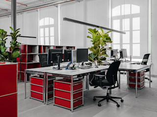 MD Creative Lab - Architettura & Design Industrial style study/office