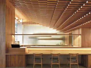 銀シャリ屋 アジア風レストラン の 堤由匡建築設計工作室 和風