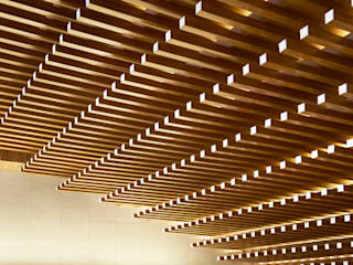 銀シャリ屋 堤由匡建築設計工作室 アジア風レストラン 木 木目調