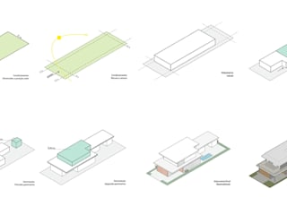 ZOMA Arquitetura 一戸建て住宅