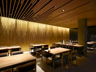 MANZO 亮馬橋 アジア風レストラン の 堤由匡建築設計工作室 和風