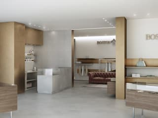 Modern offices & stores by Lascia la Scia S.n.c. Modern