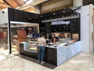 Cafe Akun Cocinas de estilo moderno de Ricardo Pupkin Link Arquitecto Moderno