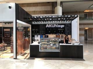 Cafe Akun Comedores de estilo moderno de Ricardo Pupkin Link Arquitecto Moderno