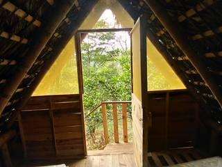 Bungalows - Akashaja: Yoga y desarrollo humano de Hauzer Arquitectura Tropical