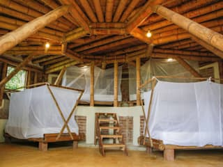 Cabaña Bahaoa - Akashaja: Yoga y desarrollo humano de Hauzer Arquitectura Tropical
