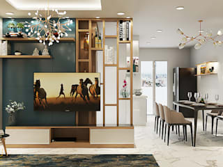 AN PHÚ DESIGN & BUILD Living roomSide tables & trays