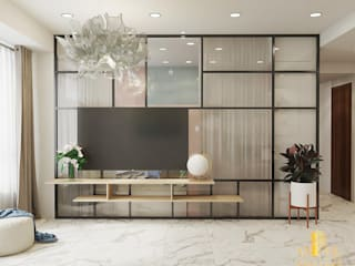 AN PHÚ DESIGN & BUILD Living roomTV stands & cabinets