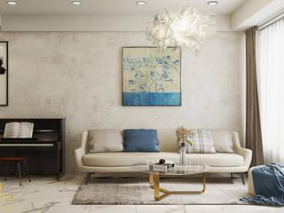 AN PHÚ DESIGN & BUILD Living roomSofas & armchairs