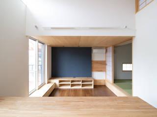 上里の家 オリジナルデザインの リビング の あきもとちえこ建築設計事務所 オリジナル