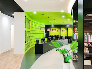 Buku2U Community Library by Kerinthing Design Unit Modern