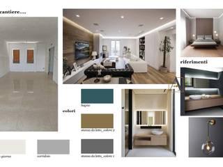 Nowoczesny salon od antonio felicetti architettura & interior design Nowoczesny
