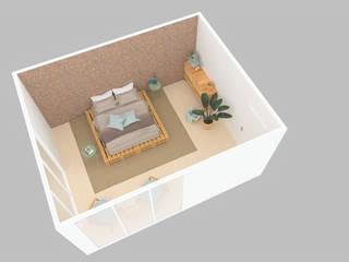 Projeto 3D - Quarto por designed