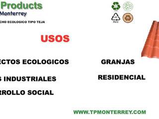 Techo Acanalado de plástico de Tek Products Monterrey Clásico