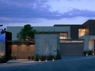 CHIMALISTAC Casas modernas de Eugenio Adame Arquitectos Moderno