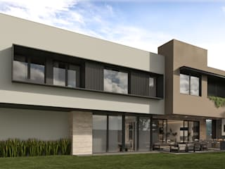 CANTANAS Casas modernas de Eugenio Adame Arquitectos Moderno