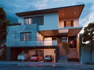 ALMENA Casas modernas de Eugenio Adame Arquitectos Moderno