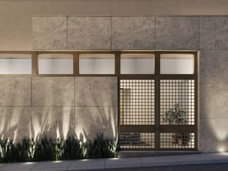 CERRADA NOGALES Casas modernas de Eugenio Adame Arquitectos Moderno