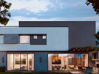 GRANADOS Casas modernas de Eugenio Adame Arquitectos Moderno