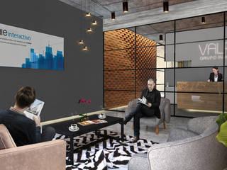 Oficinas Inmobiliaria Estudios y despachos industriales de Arquitectos M253 Industrial