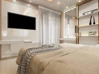 MJR - ENGENHARIA | GERENCIAMENTO | DESIGNERS Modern Bedroom