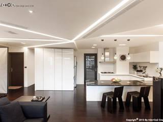 Diamand 現代廚房設計點子、靈感&圖片 根據 光合作用設計有限公司 現代風