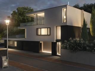Casas minimalistas de Peter Stasek Architects - Corporate Architecture Minimalista