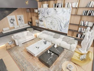 Salones de estilo moderno de VERO CONCEPT MİMARLIK Moderno