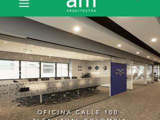 Oficinas Alfa Laval Bogota de am Arquitectos Moderno