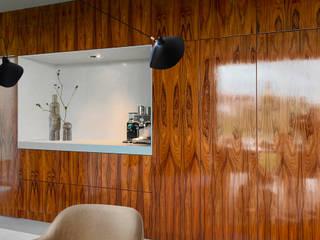 pallisander wandblok met kooknis van iconic design Eclectisch Hout Hout