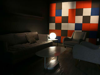 Oficinas Rappi Campus CDMX Edificios de oficinas de estilo minimalista de Fobos Lighting Studio Minimalista