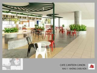 Thiết kế nội thất canteen Canon Thiết Kế Nội Thất - ARTBOX