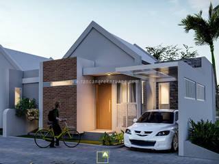 Rancang Reka Ruang Small houses Concrete White