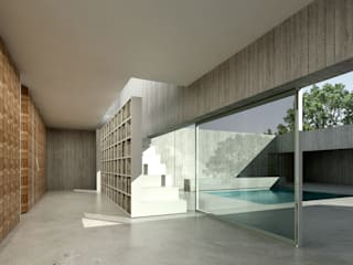 House in Lagoa por AAP - ASSOCIATED ARCHITECTS PARTNERSHIP Moderno