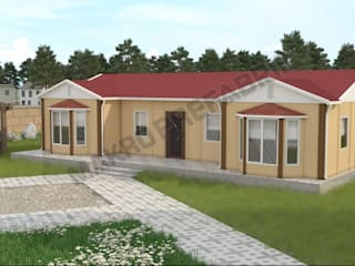 MAKRO PREFABRİK ÇELİK YAPI İNŞ. SAN. VE DIŞ TİC. LTD. ŞTİ. Prefabricated homes: Design ideas, inspiration & pictures