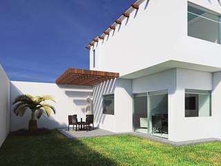 Casa Esmeralda de Render Design Moderno
