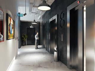 Lift Lobby de Render Design Moderno