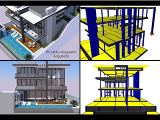 Residencia Mauro por RJC Engenharia & Consultoria