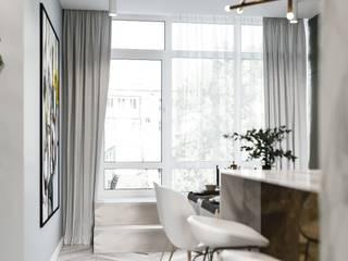 Fantastic elegant apartment in Barcelona, 170 m2 Кухня в стиле модерн от ANNAROMEO DESIGN Модерн
