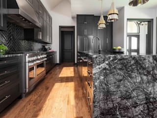 Kar Maden Mermer Kitchen units Marble Black