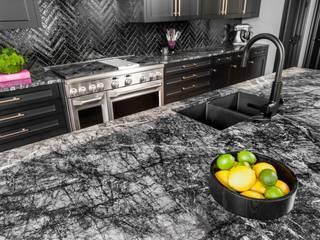 Kar Maden Mermer Built-in kitchens Marble Black