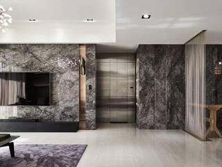 Kar Maden Mermer Modern living room Marble Grey