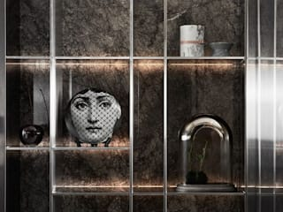 Kar Maden Mermer Modern walls & floors Marble Black